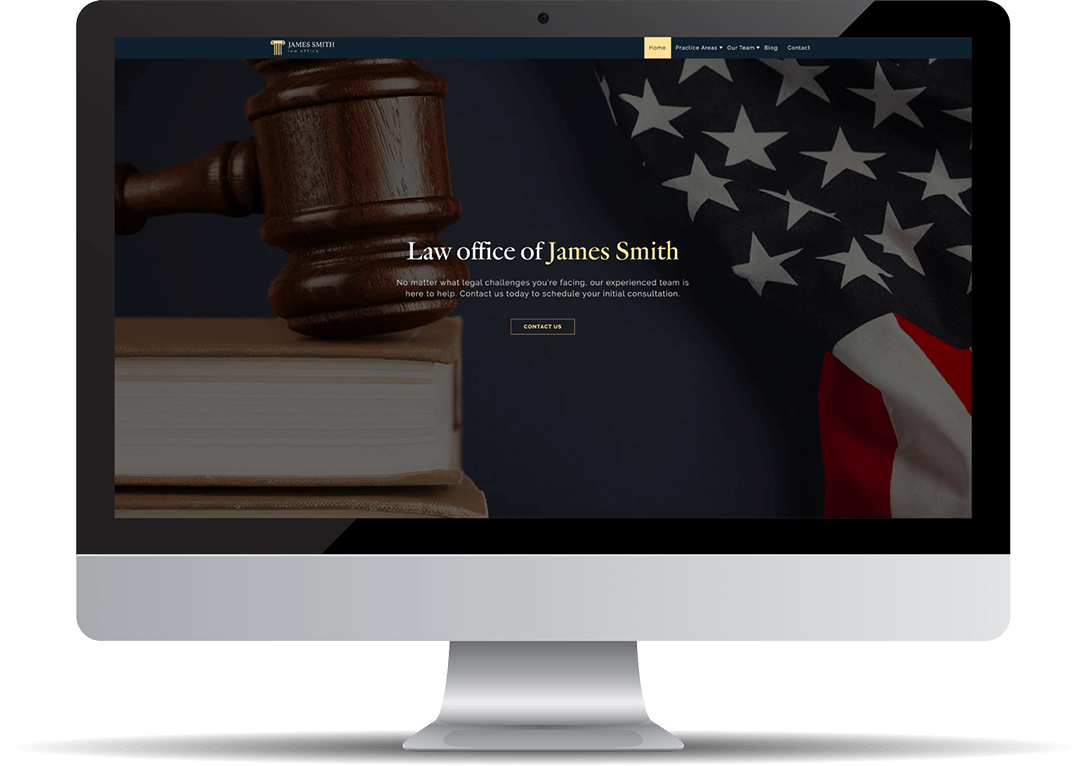 James Smith's Law Office Website